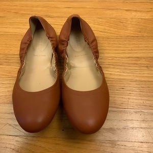 J. Crew CeCe Ballet Flats Size 8.5 Brown Sienna